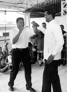 Muhammad Ali en Teófilo Stevenson